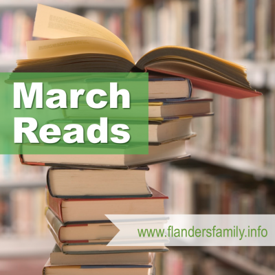 Shaking the Nickel Bush (& More March Reads)