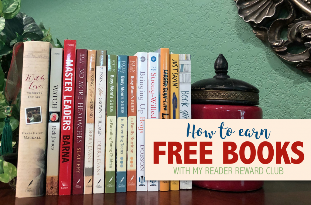 Earn Free Books with My Reader Rewards