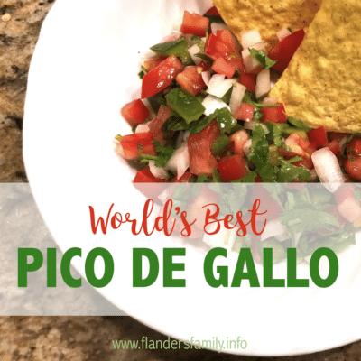 The World's Best Pico de Gallo