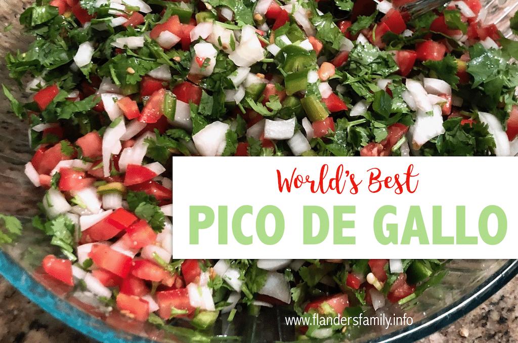 World's Best Pico de Gallo