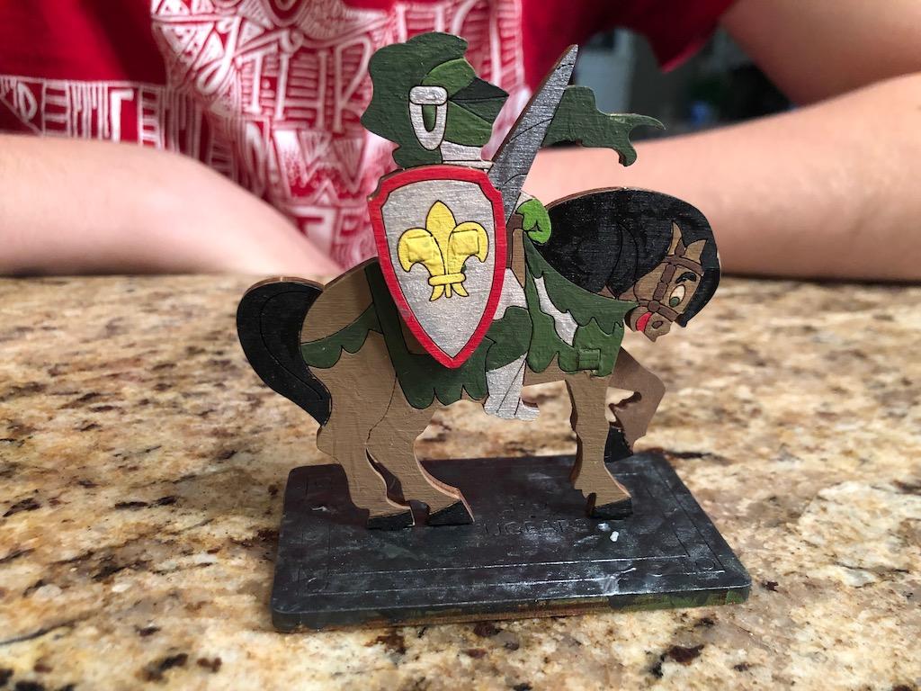 UGears Knight