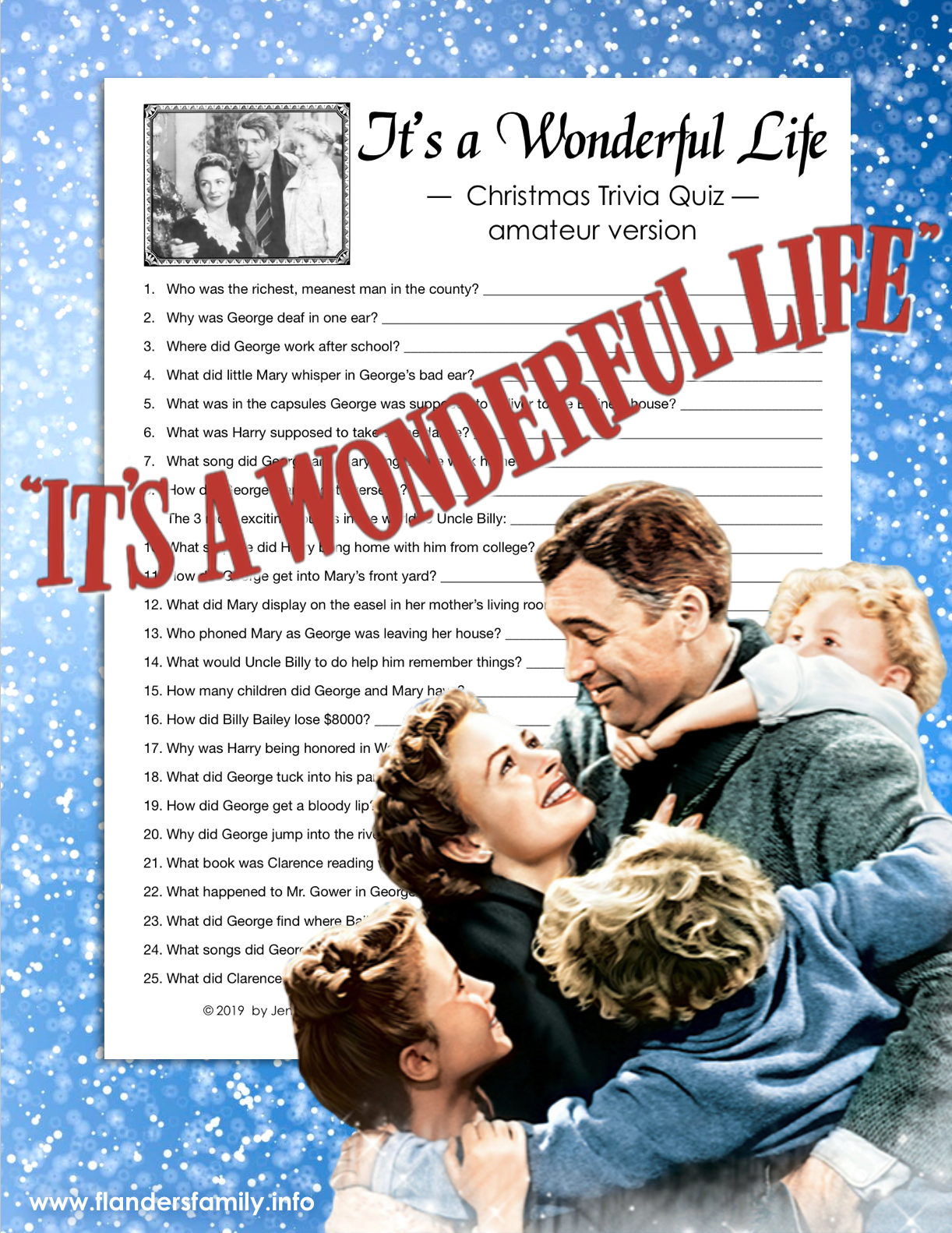 It's a Wonderful Life Movie Trivia