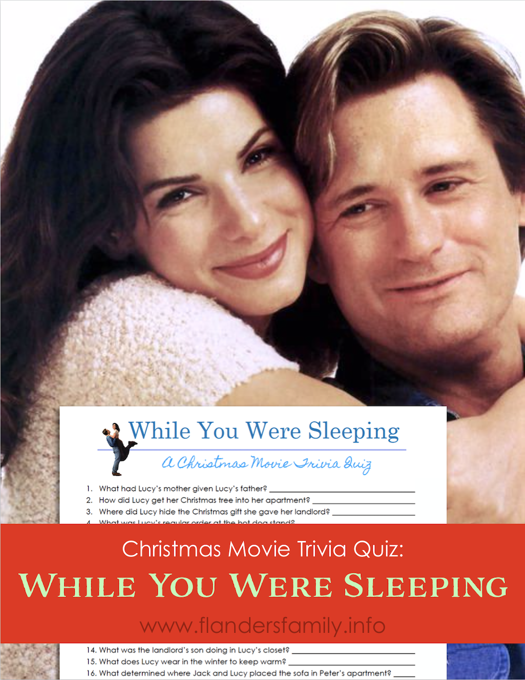 While Your Were Sleeping Quiz
