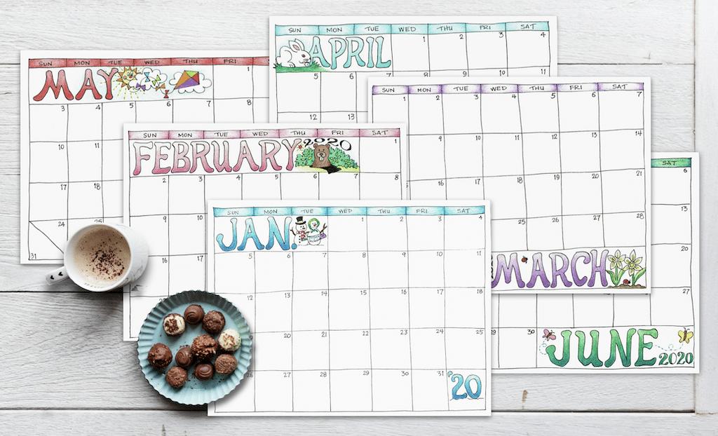 Top 10 Flanders Family Posts 2019 - Scrapbook Calendars