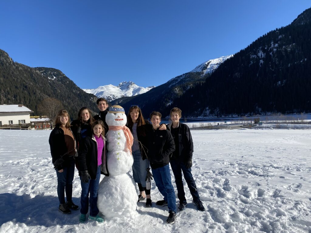 Building a Snowman in the Alps