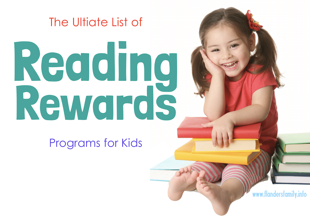Ultimate List of Reading Rewards Programs
