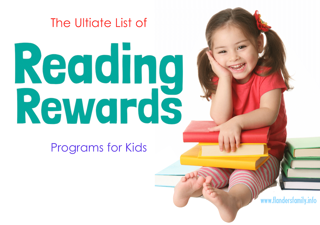Ultimate List of Reading Rewards Programs