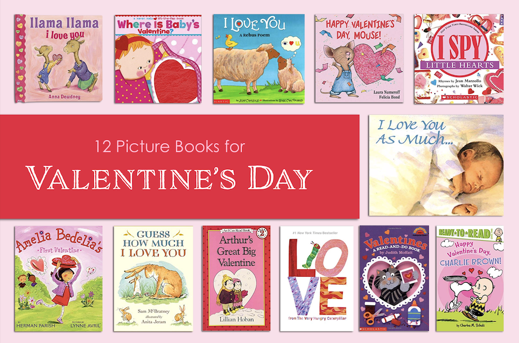 12 Picture Books for Valentine's