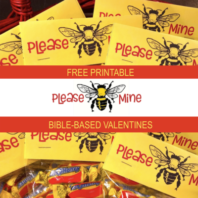 Please BEE Mine Valentines