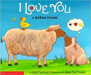 I Love You- A Rebus Poem