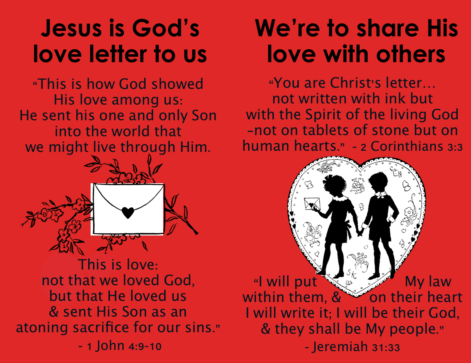 Tract - Valentine's Day - Love Letter - Inside