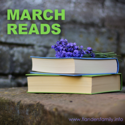 Growing Grateful (& More March Reads)