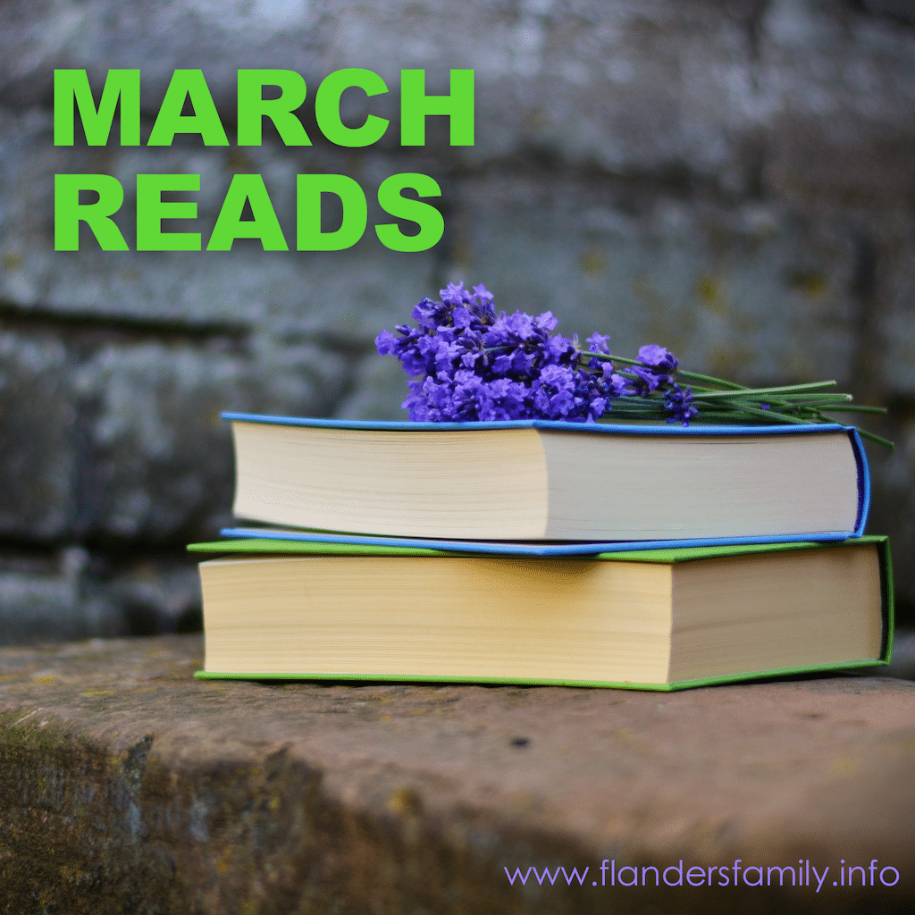 Growing Grateful (and More March Reads)