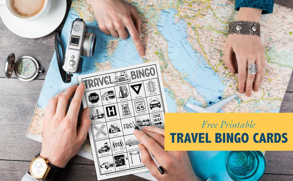 Free Travel Bingo Printables