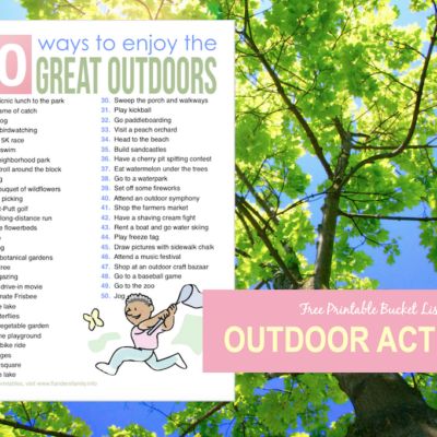 50 Ways to Enjoy the Great Outdoors