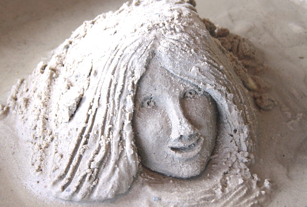 Jennifer's Sand Sculpture