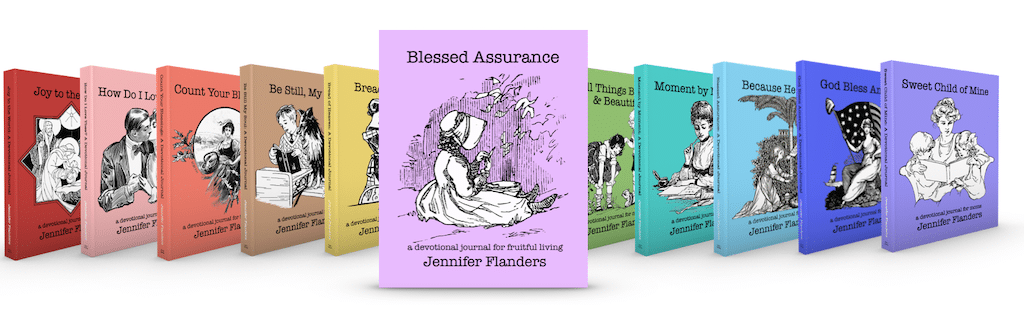 Devotional Journals by Jennifer Flanders