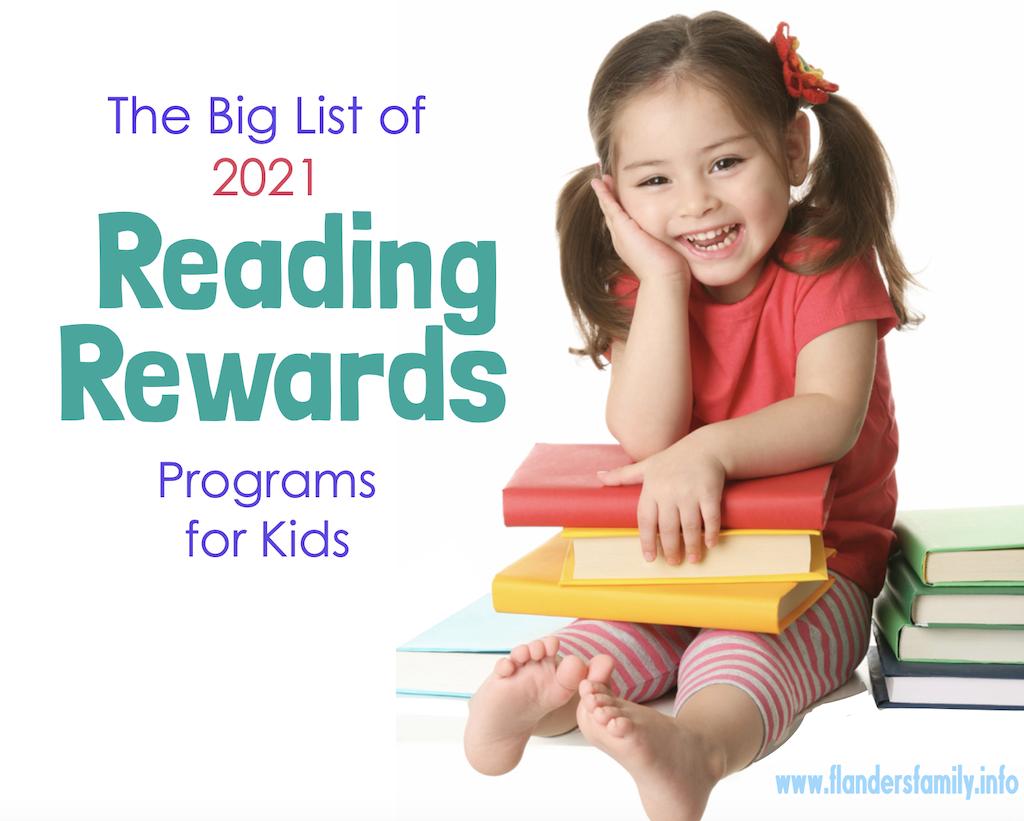 2021 Reading Rewards Programs