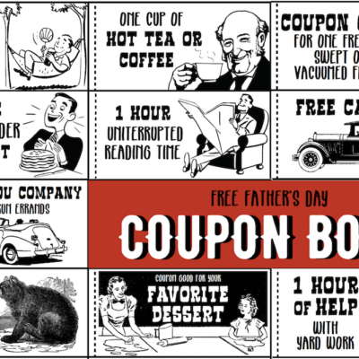 Father's Day Coupon Book (Free Printable)