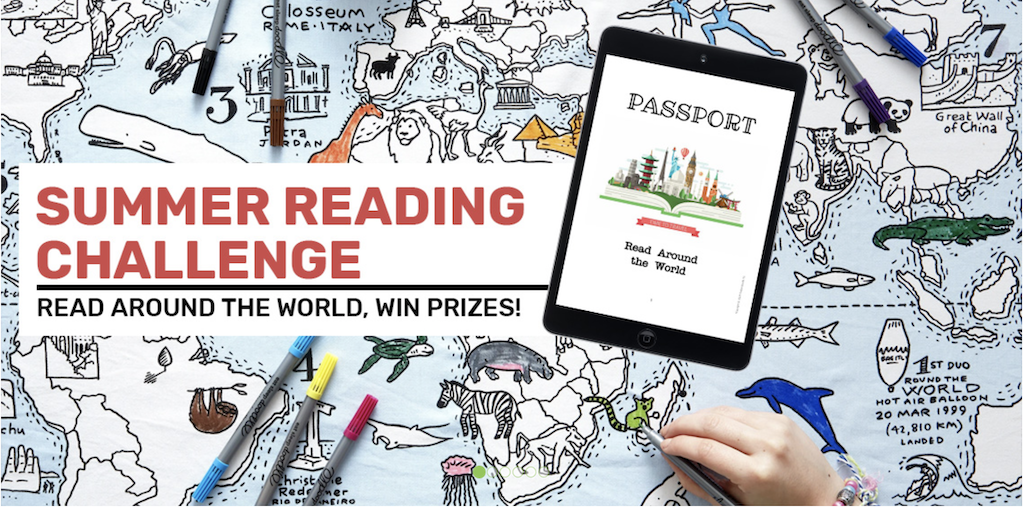 Timberdoodle Read-around-the-World Challenge