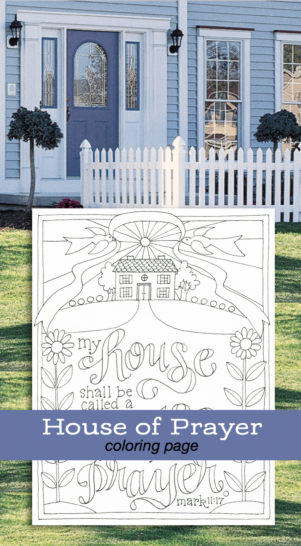 Free Hand Drawn coloring pages featuring favorite Bible verses
