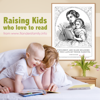 Raising Kids who Love to Read: Tips, Tricks, and Printables