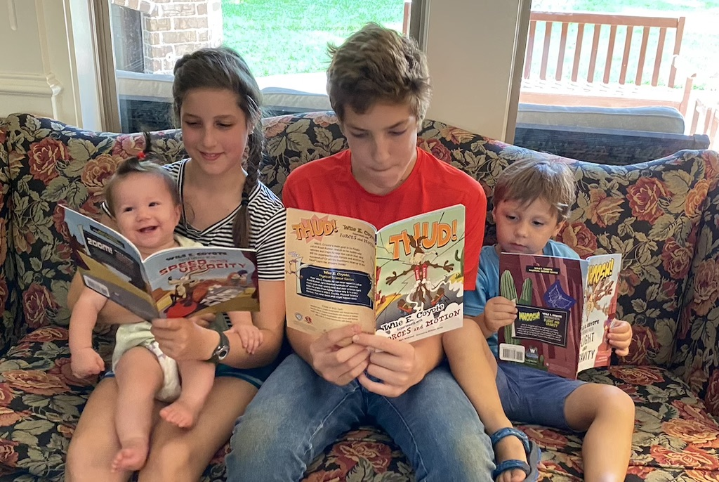 Reading for all ages