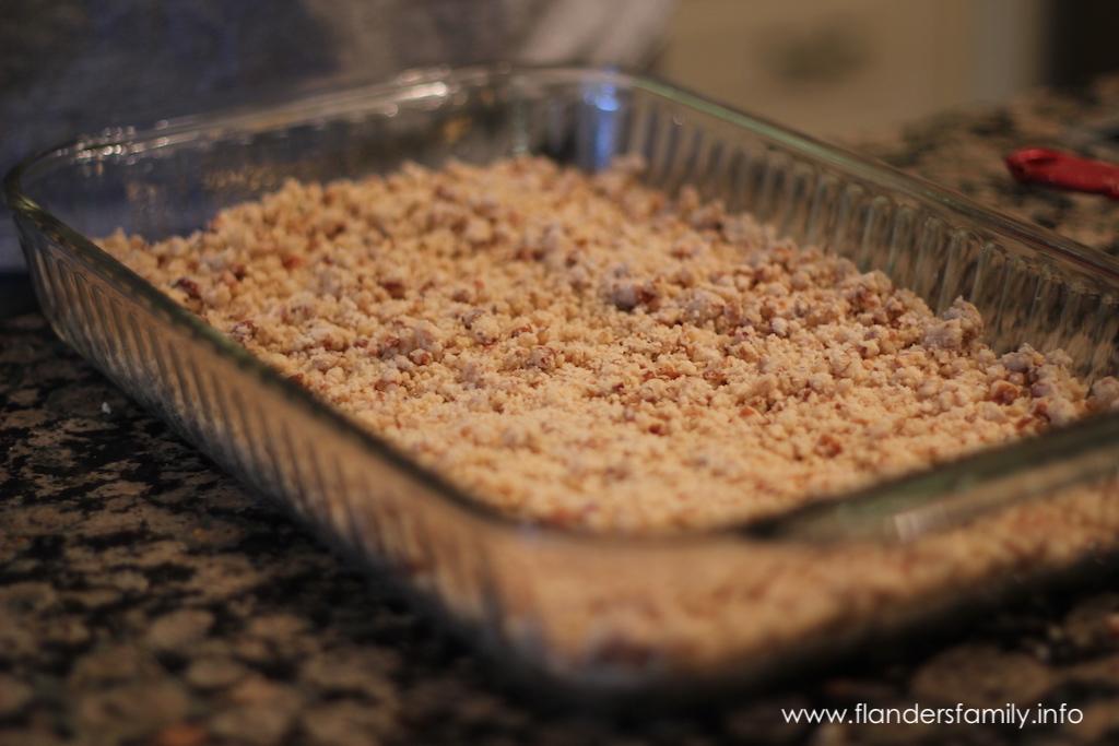 preparing crust