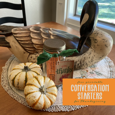 Conversation Starters for Thanksgiving