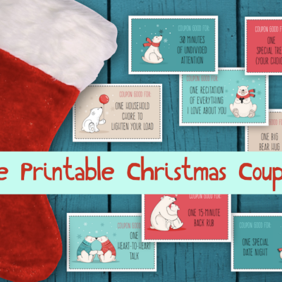 Christmas Coupons (Free Printable)