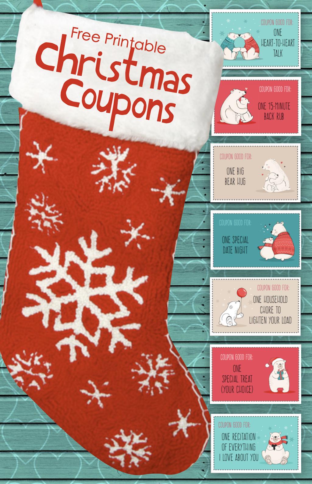 Free last minute stocking stuffers