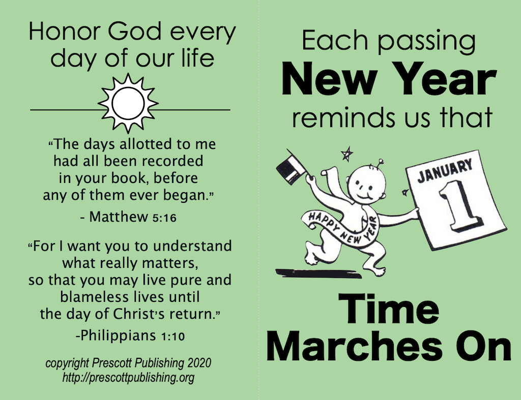 New Year Marches On - Outside
