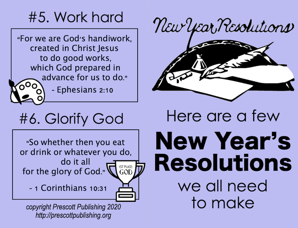 New Year Resolutions - Outside