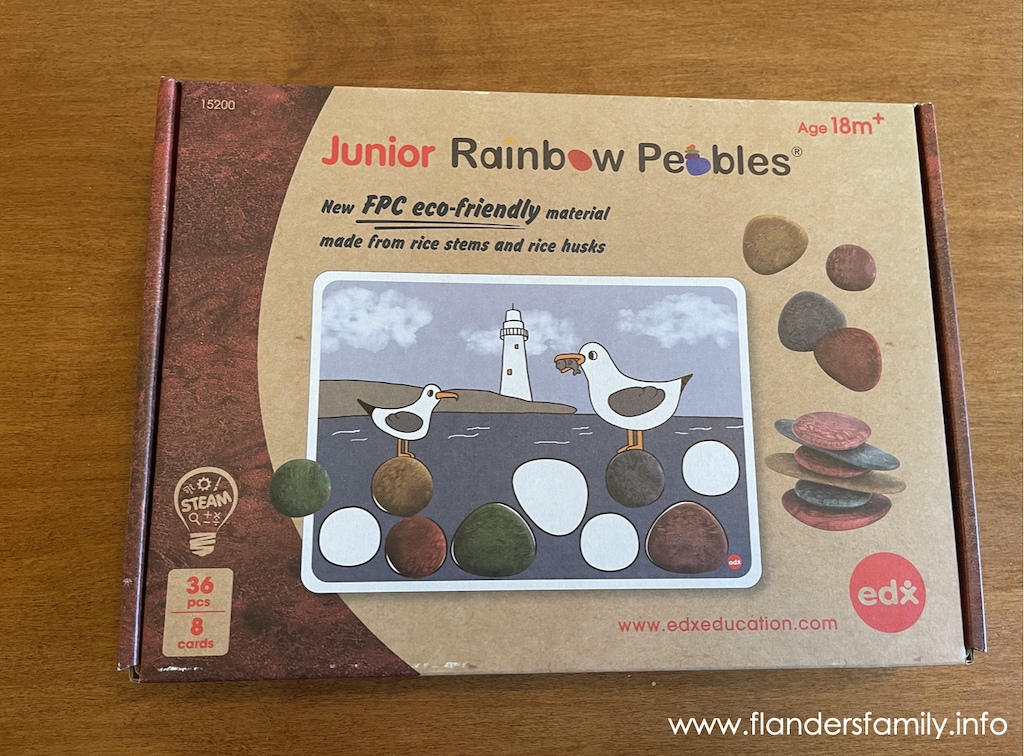 Junior Rainbow Pebbles Review