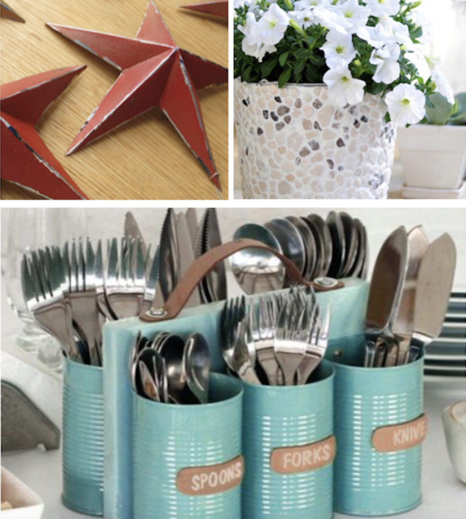 Tin Can Recycling Projects