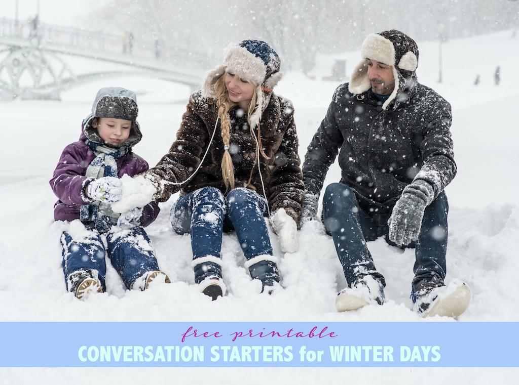 Winter Day Conversation Starters