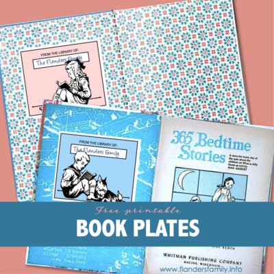 Free Printable Book Plates