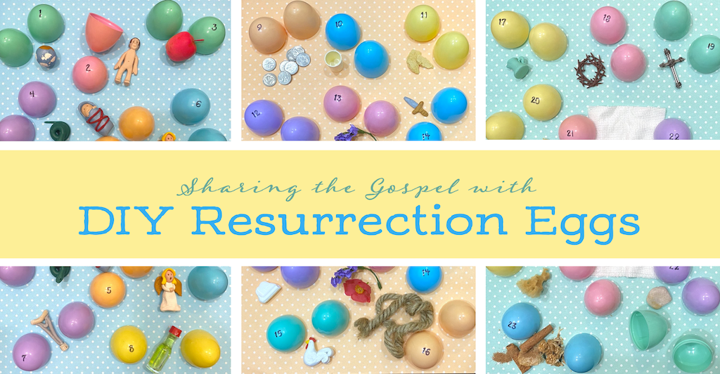 Sharing the gospel at Easter