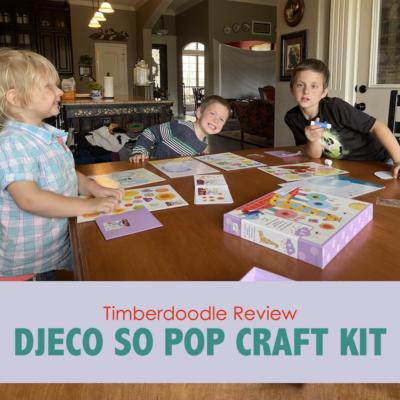 Djeco So Pop Review (Timberdoodle Craft Kit)