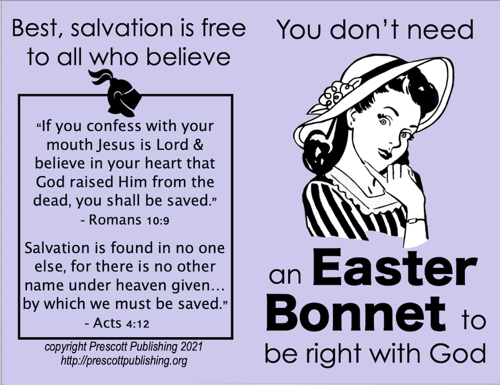 Easter Bonnet Tract