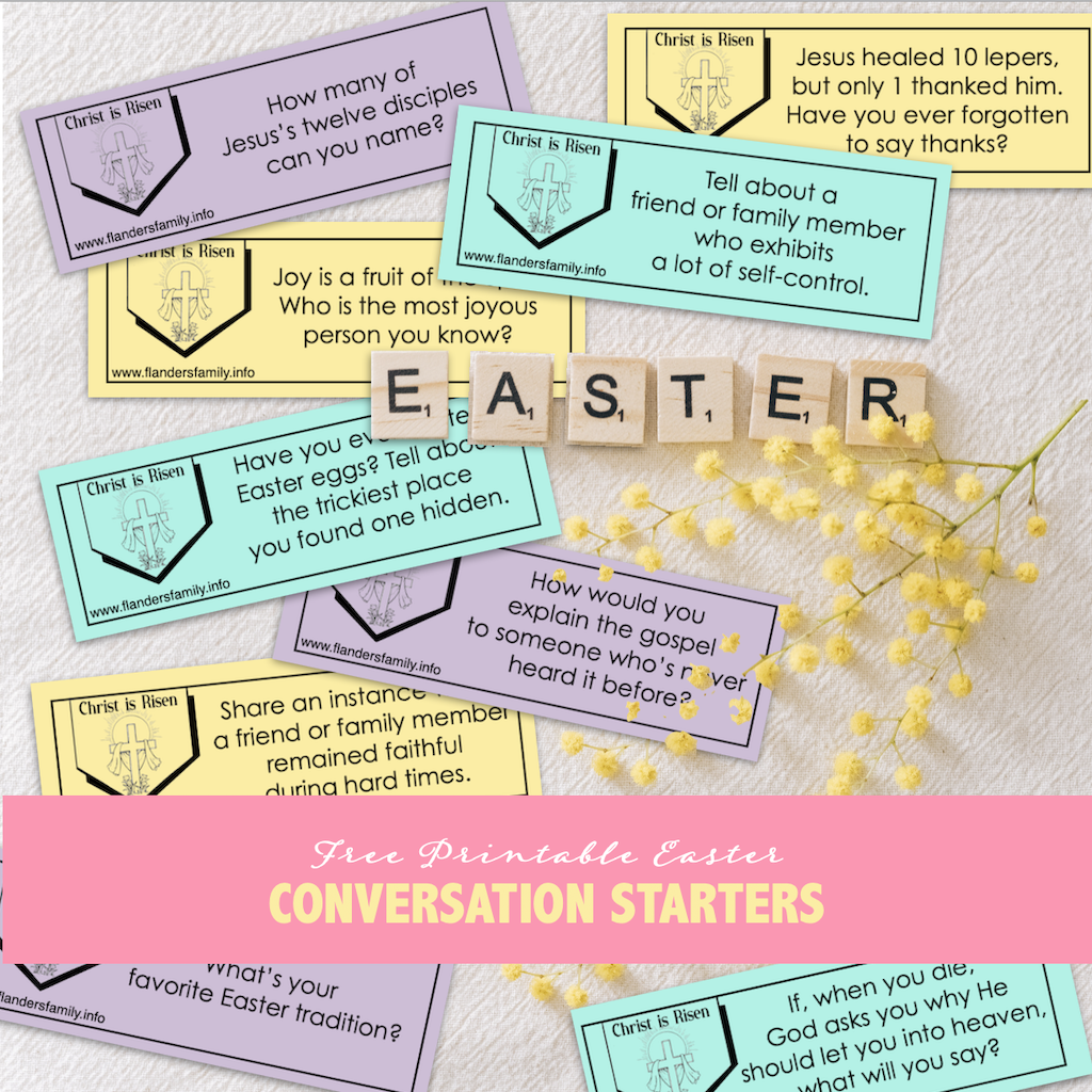 Free printable discussion prompts