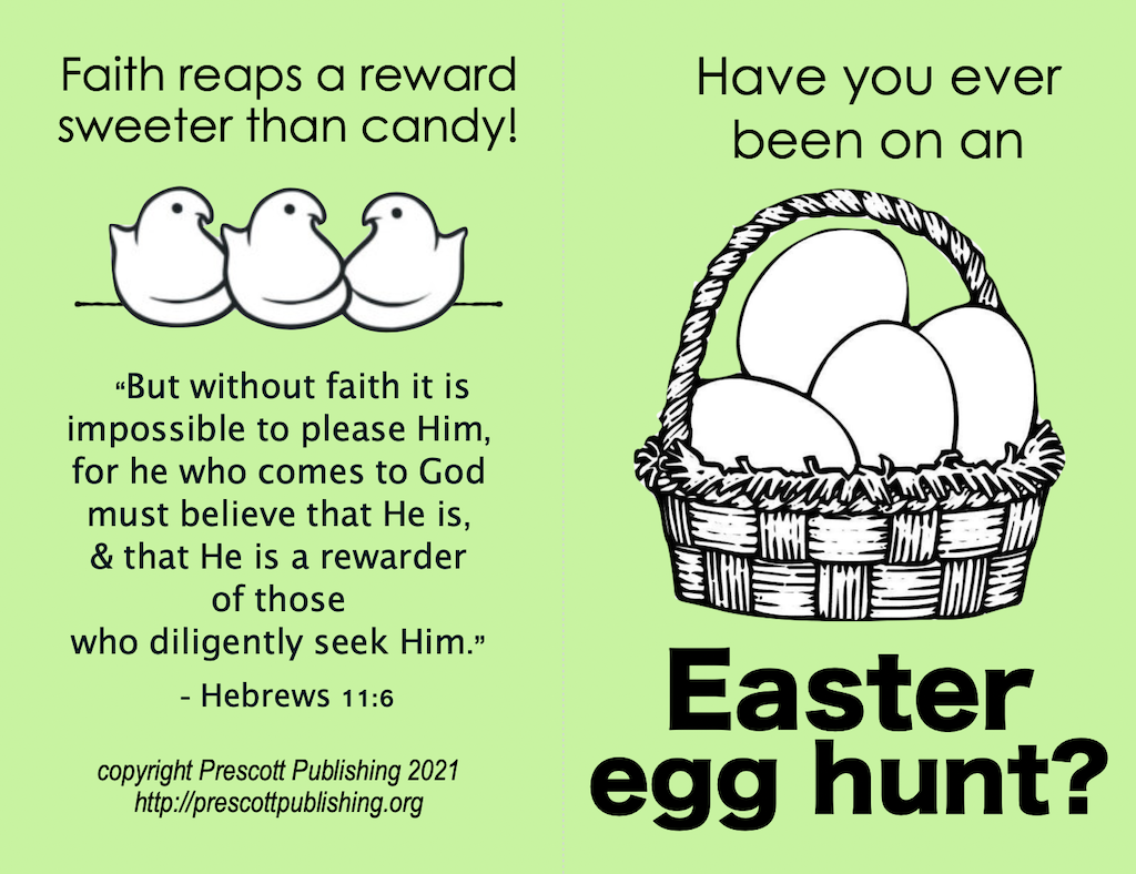 Easter Egg Tract