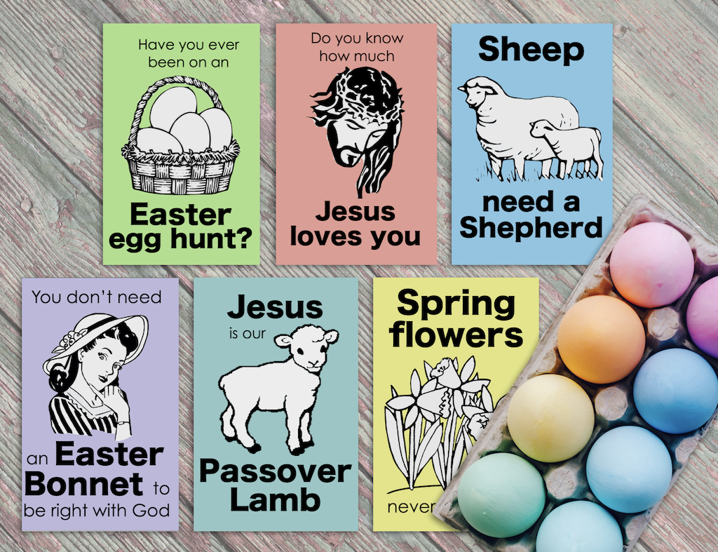 Gospel Tracts for Easter