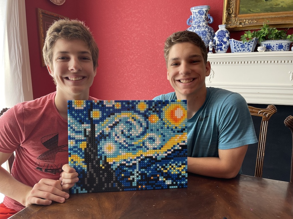Finally Finished with their Masterpiece