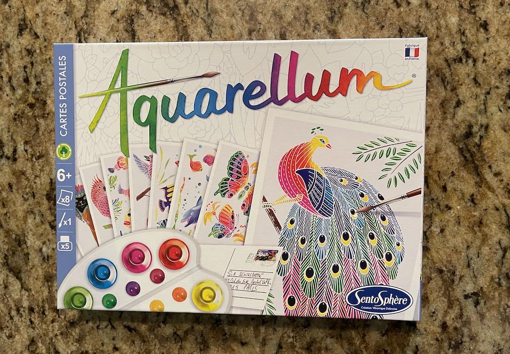Aquarellum Painted Postcards