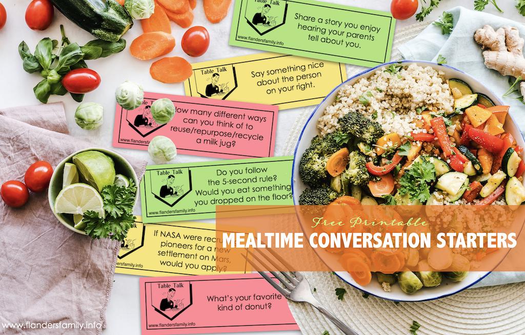 Mealtime Conversation Starters