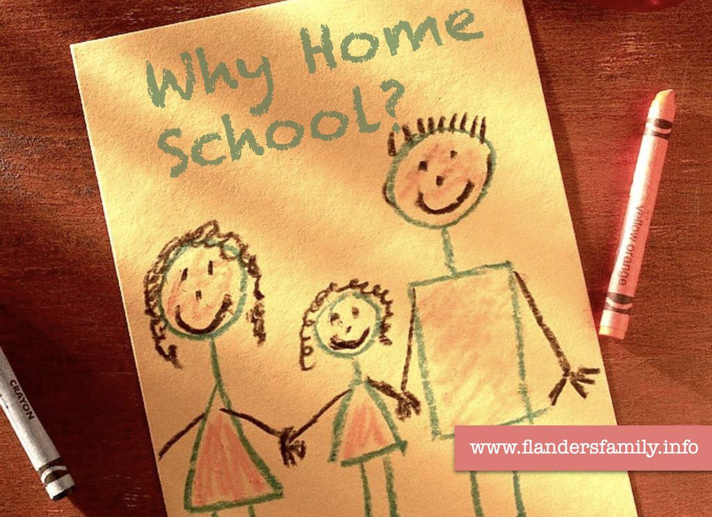 Why Homeschool -