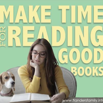 Make Time for Reading