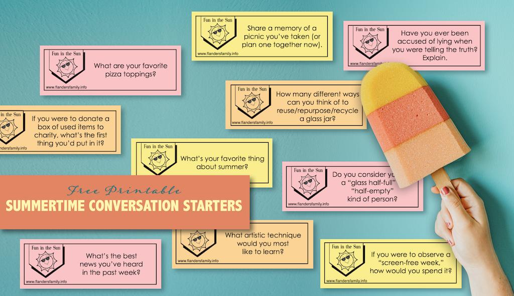 Summertime Conversation Starters