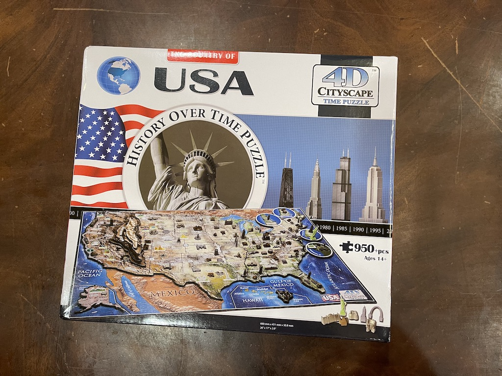 USA History over Time Puzzle